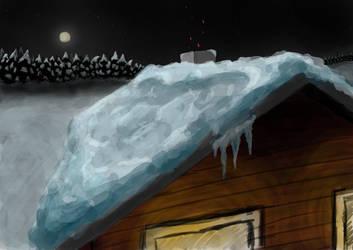 Snowy Scene by Home-Korva