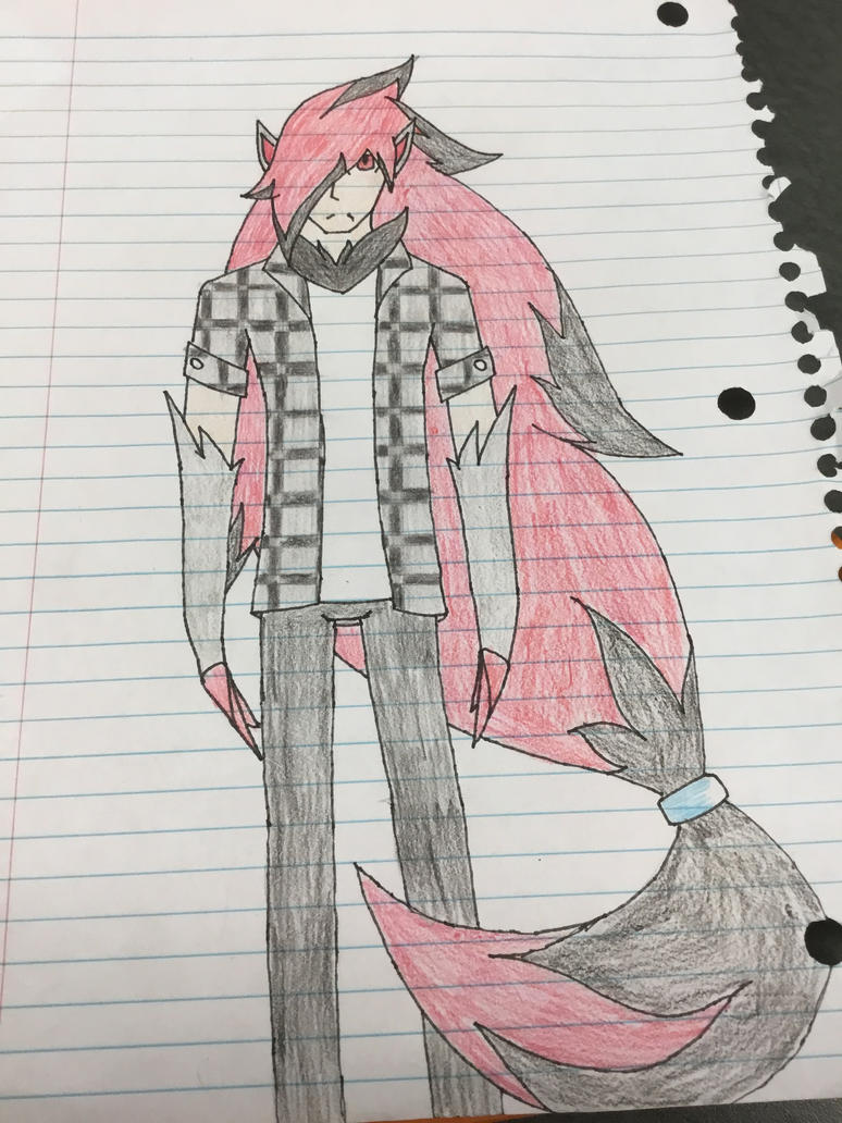 Shadow zoroark concept outlined by Shadazetrapp