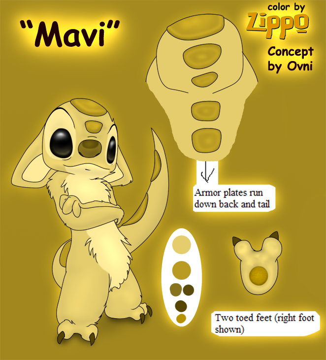 Experiment 646 - Mavi by Experiment-Project