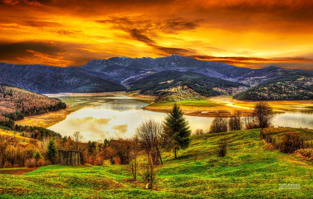 Evening Spring by valiunic