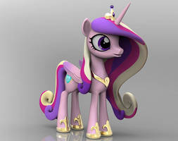Princess cadence 3D model by Harikon