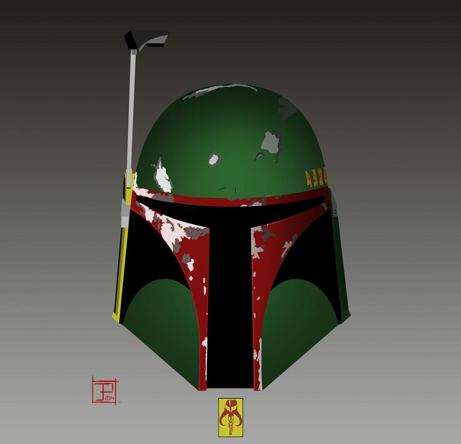 Boba Fett May The 4th Be With You: Boba Fett Helmet By Murk-Art On