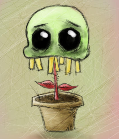 My Special Plant by above-and-beyond