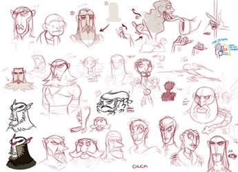 Doodles 140: Vlad by ChuckDoodles