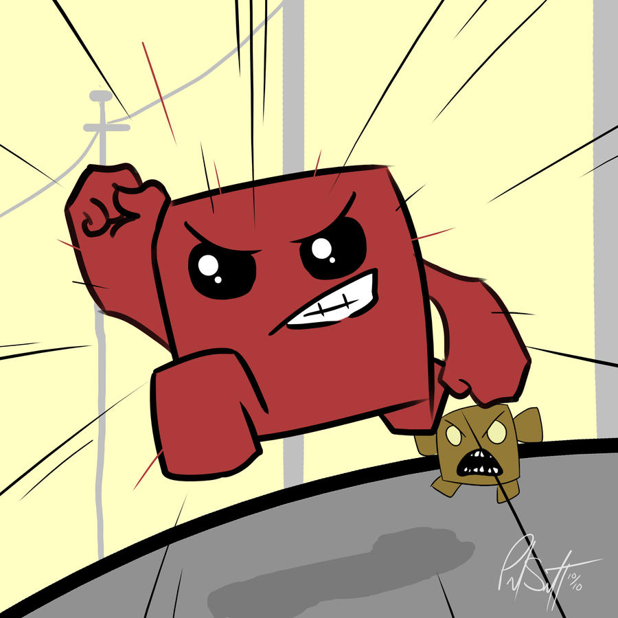Super Meat Boy by Chicken008