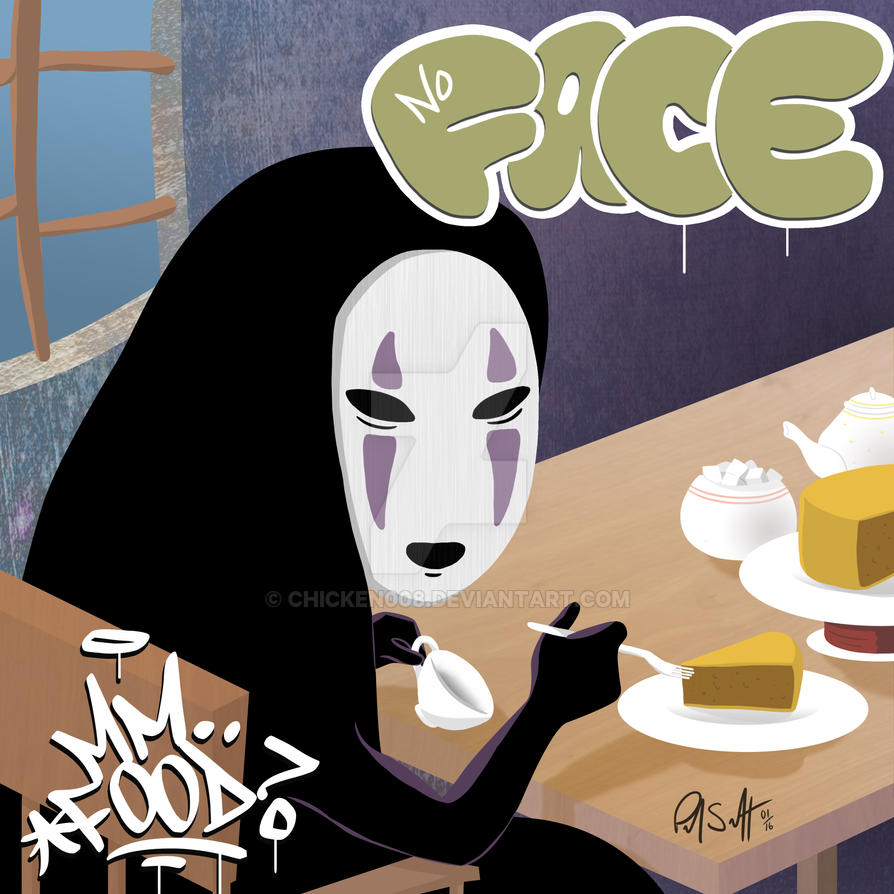 No Face -  Mm.. Food by Chicken008