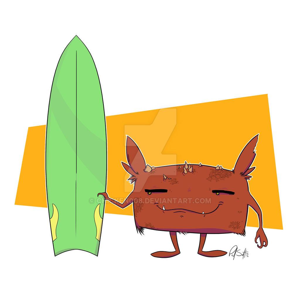 Surf Monster by Chicken008