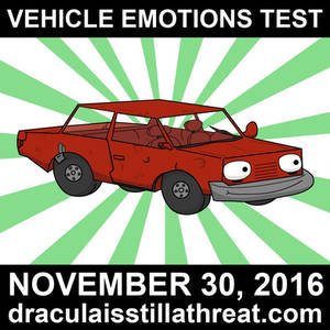 Vehicle Emotions Test-Promo Red