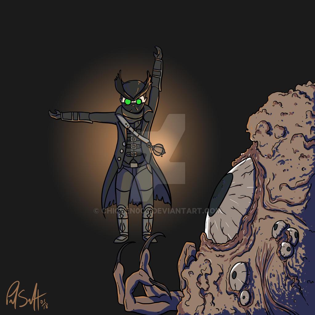 Hunter in the Dark by Chicken008
