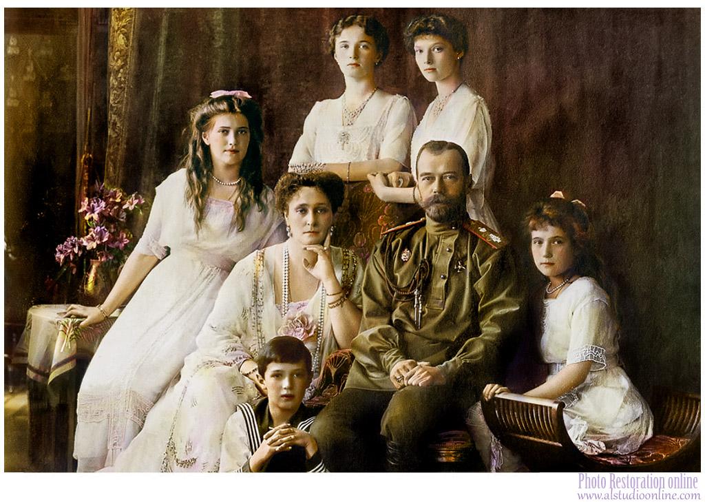 1914  Nicholas II and his family by Zavgo-Spb on DeviantArt