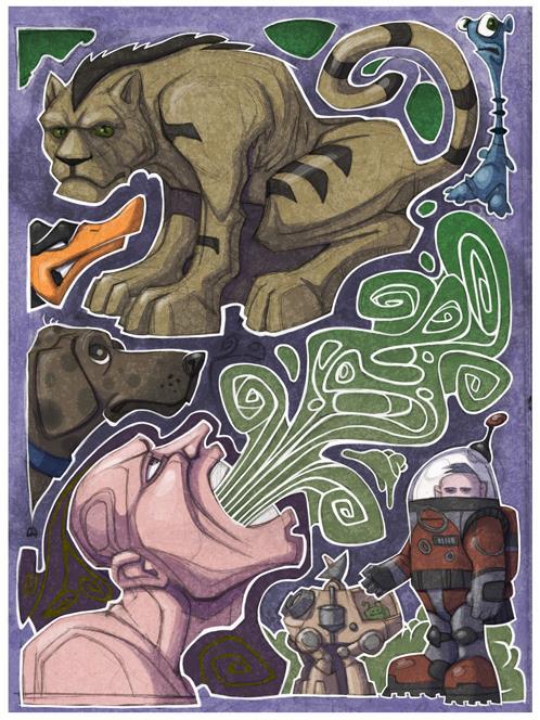 Mash Up Lion by berkheit
