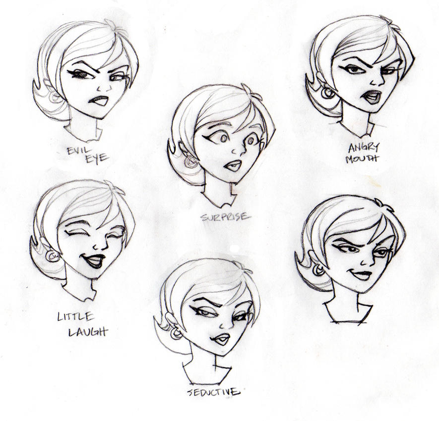 how to draw : emotions faces