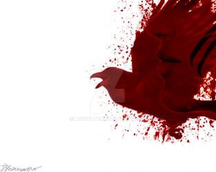 A Crow's Journey by Louvette