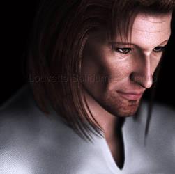 Older Alistair Portrait by Louvette