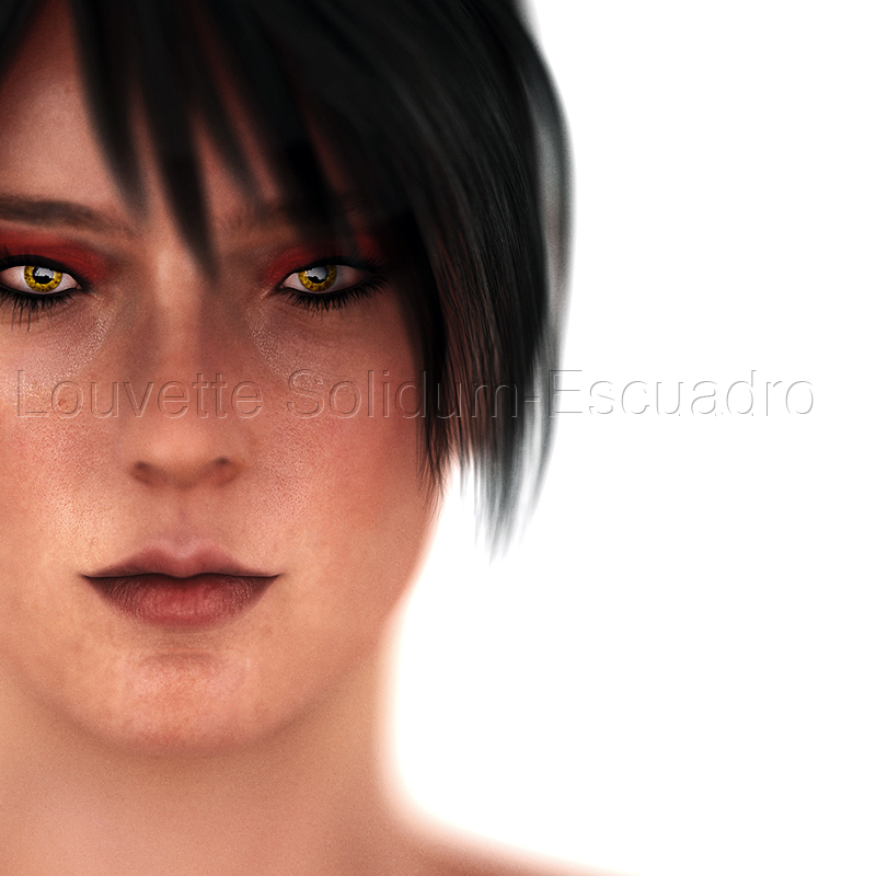 Young Morrigan by Louvette