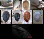 African Mask Progress