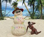 Warm Summery Christmas