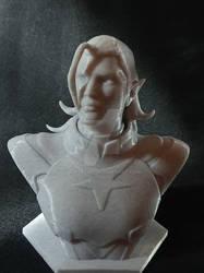 Lotor Portrait Bust