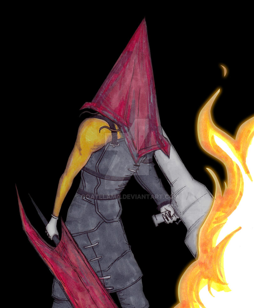 Pyramid Head (Nemesis garb) by Goatllama