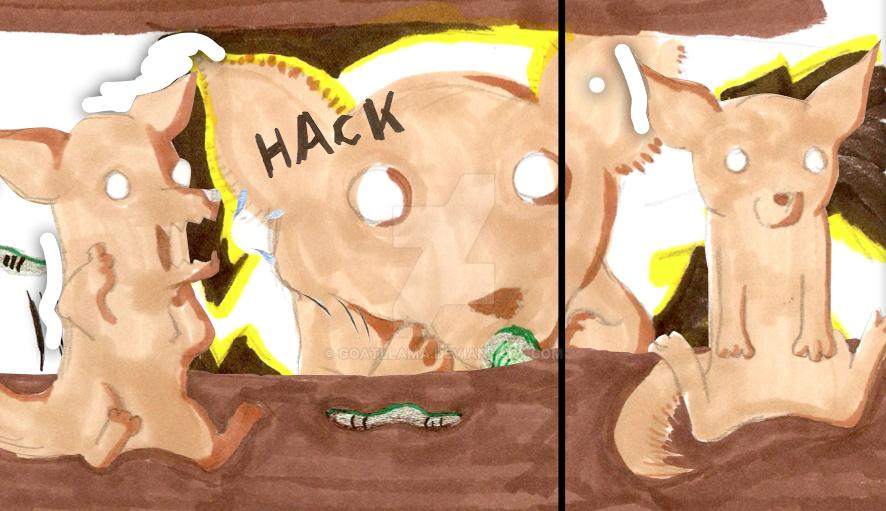 Jackal and Wurm BONUS by Goatllama