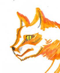 Inktober 2081 5: Fox