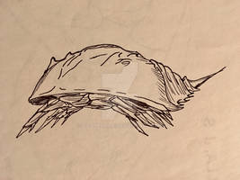 Inktober 2081 6: Horseshoe Crab