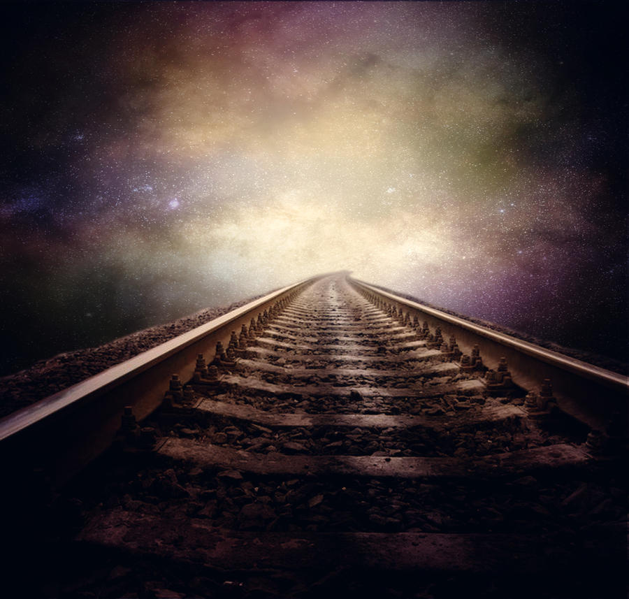 Cosmic Railroad by Dasha444