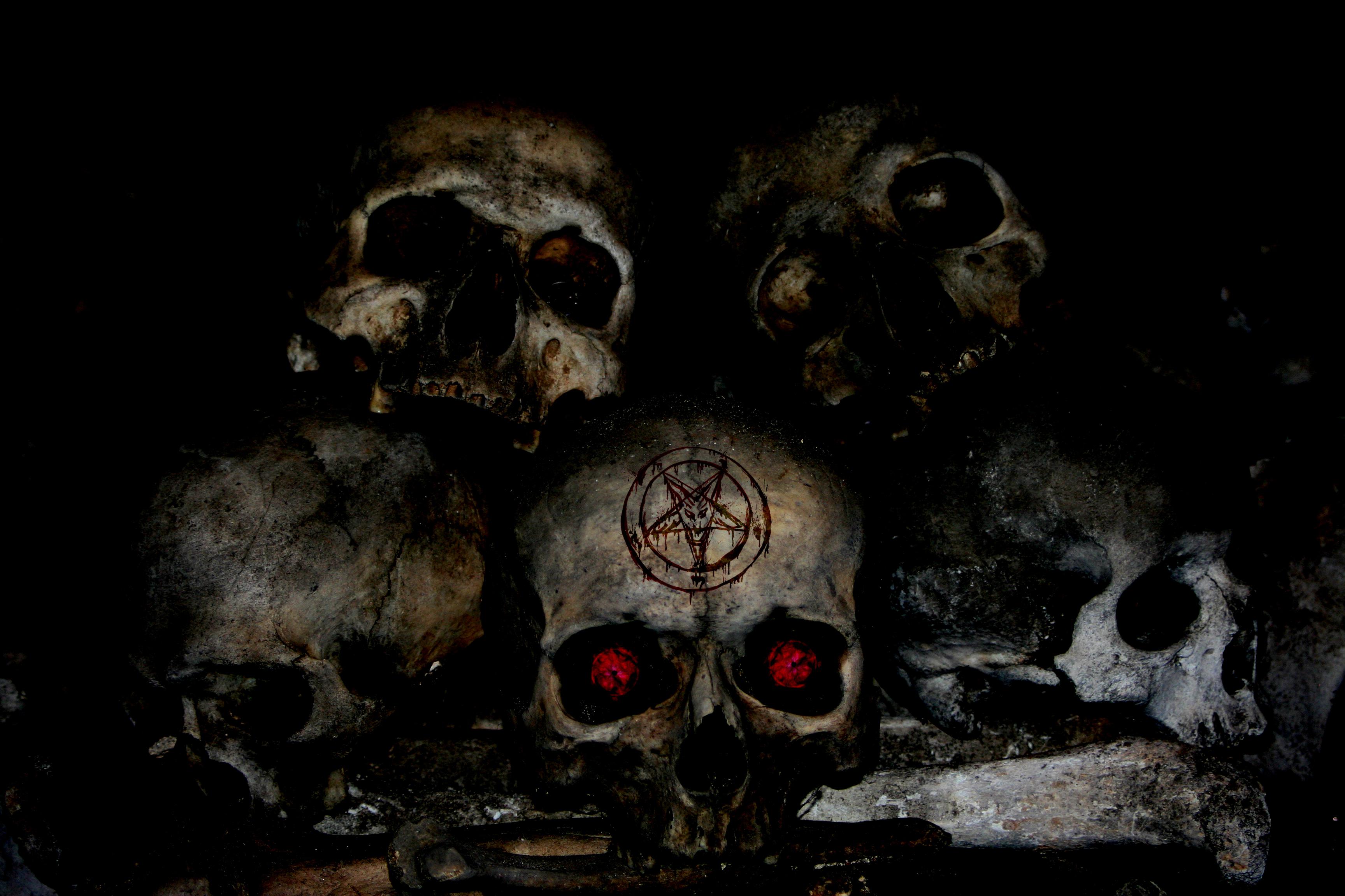 demon skull wallpaper - photo #15