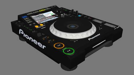 Pioneer CDJ-2000 by Qhristian