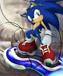 sonic in megalo station by shoppaaaa
