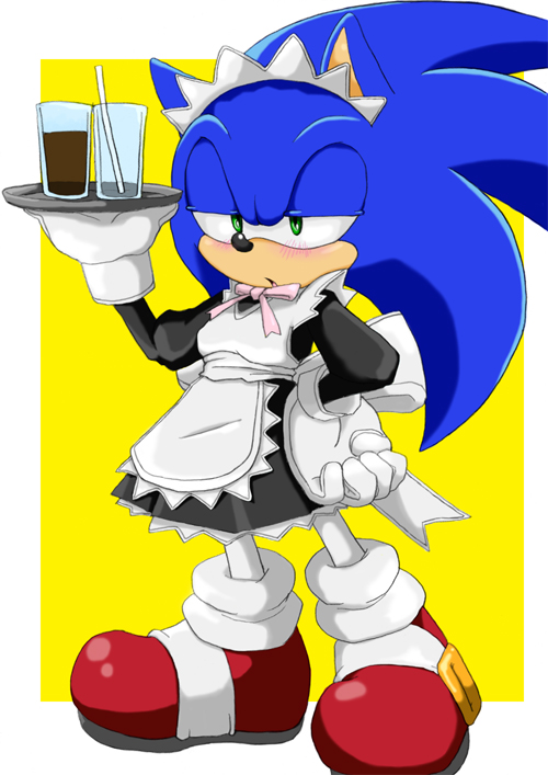 maid sonic by shoppaaaa