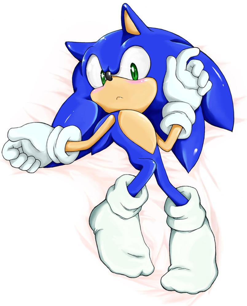 Sonic dakimakura by shoppaaaa