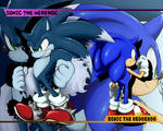 sonic and werehog wallpaper