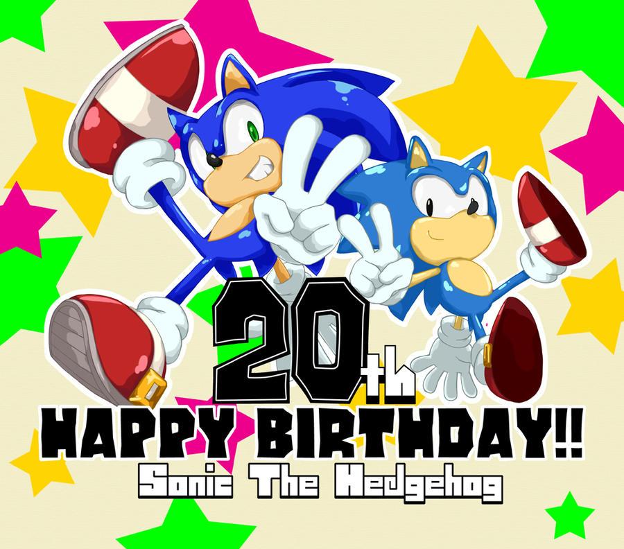 20th Happy Birthday. by shoppaaaa