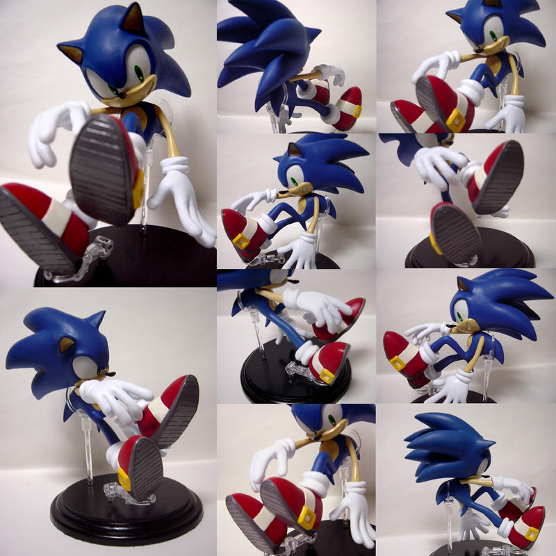 Sonic figure ver.normal shoes by shoppaaaa