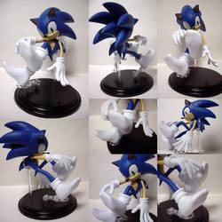 Sonic figure ver.socks