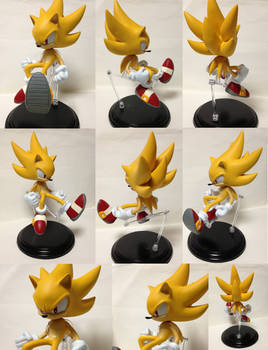 Super sonic figure