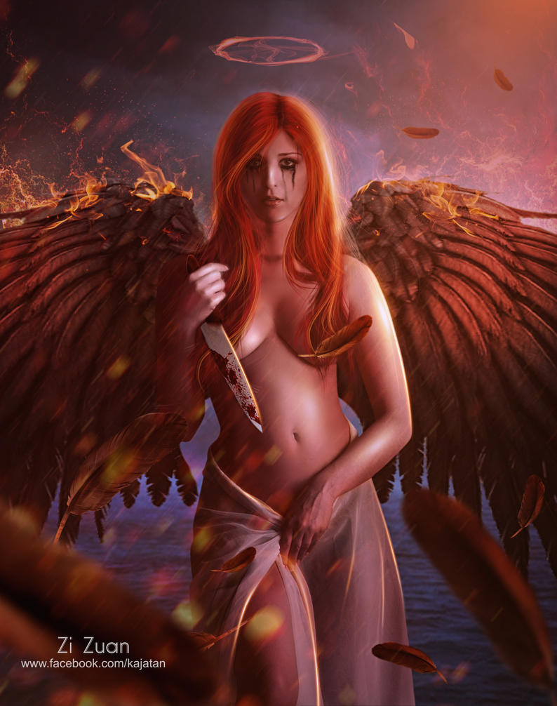nude fantasy angel girl