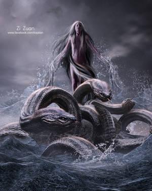 Sea Princess by zizuan