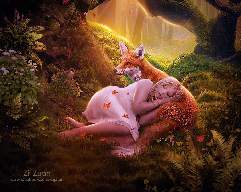 Sleeping Beauty by zizuan
