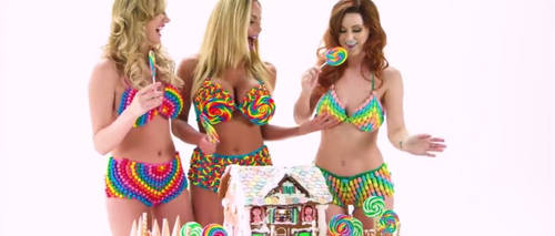 Sexy women and gingerbread house! Pt.1 by adamhoman6965