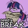 Need a BREAK by amaltea-olenska