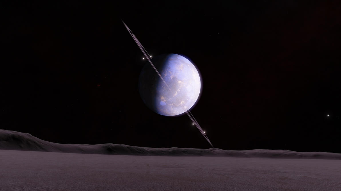 Space Engine: Ringed Planet #1 by jeffy21