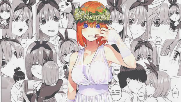 Nakano Yotsuba Comic Wallpaper