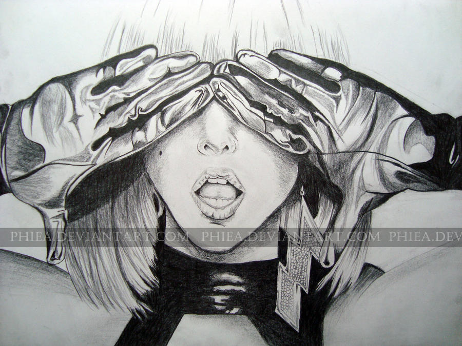Lady Gaga Paparazzi by phiea