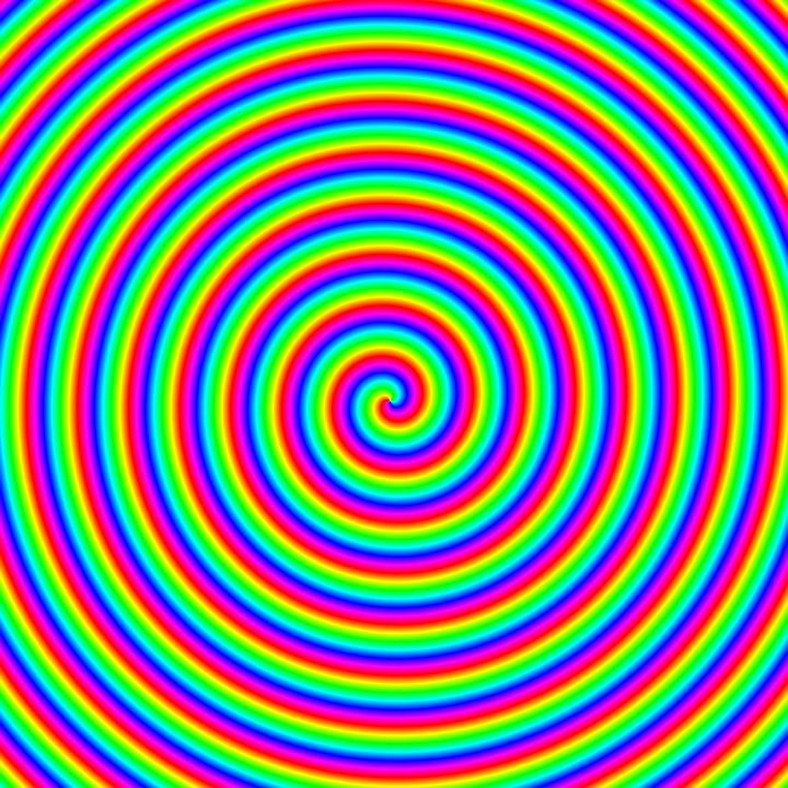 spiral rainbow - photo #21