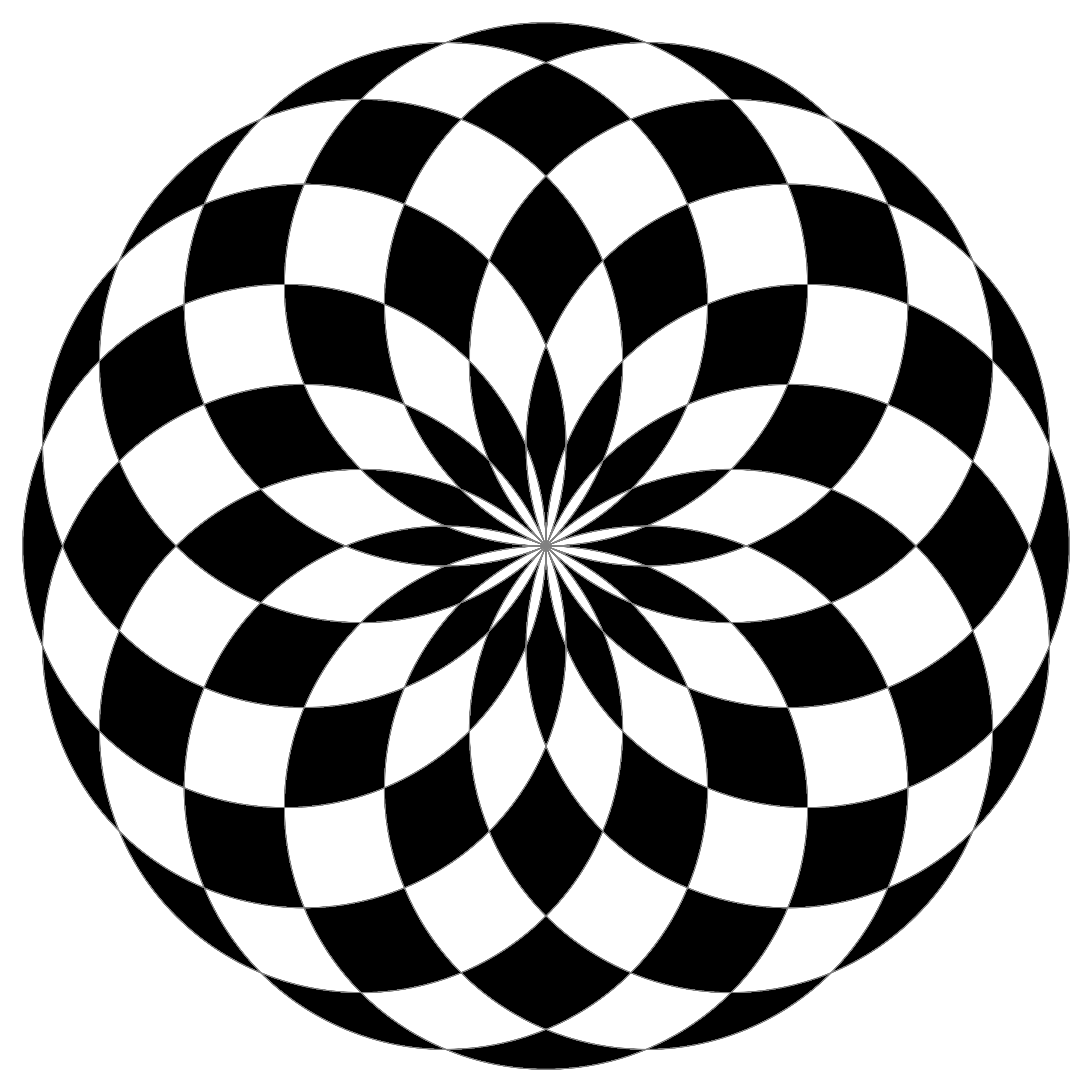 circle design 16 circle black white fill by 10binary on deviantart 112
