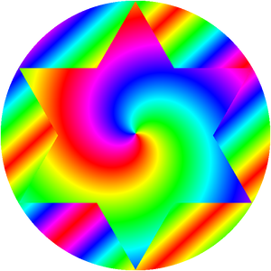 hexagram circle fit