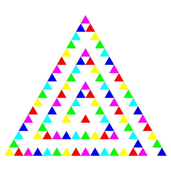 Triangle Art 11-23-2015 by 10binary