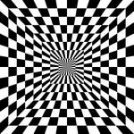 2 color checkered square tunnel